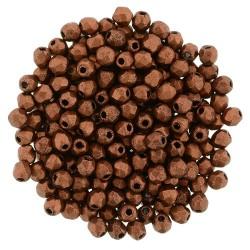 Mezzo Cristallo  2 mm Matte Metallic Dark Copper  - 50  Pz