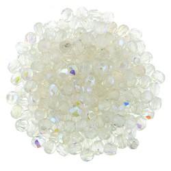 Mezzo Cristallo  2 mm Crystal AB   - 50  Pz