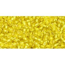 Rocailles Toho 11/0 Silver-Lined Lemon - 10 g