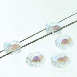 Honeycomb  Jewel  6 mm  Full Crystal Ab  - 20 Pz