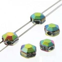 Honeycomb  Jewel  6 mm  Full Vitrail   - 20 Pz
