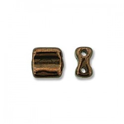 Groovy Tiles  6 mm Dark Bronze  -  20 Pcs