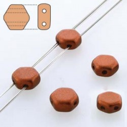 Honeycomb 6 mm  Red Copper Mat   - 20 Pcs