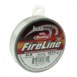 Fireline Thread  0.12 mm (4LB)  Smoke   - 1 Spool of  50 Yard