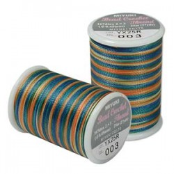 Filo Miyuki Bead Crochet  0,45 mm  Prairie  - 1 Bobina da 25 m