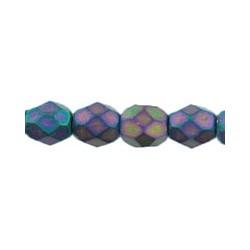 Mezzo Cristallo  4 mm Matte  Iris Purple - 50  Pz