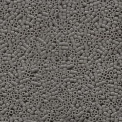 Delica Miyuki 11/0 Opaque  Grey - 5 g