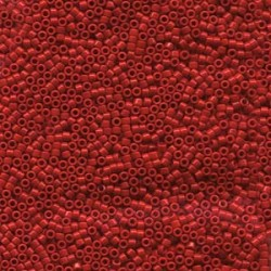 Miyuki Delica  11/0 Opaque  Dark Cranberry - 5 g