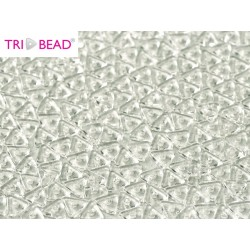 Tri- Bead  4 mm  Crystal  - 5  g