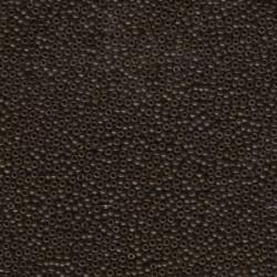 Miyuki Round Seed Beads  11/0 Opaque Chocolate  - 10 g- code 0409