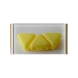 Khéops® par Puca® 6mm  Opaque Jonquil Silk Mat  - 5 g