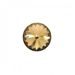 Rivoli  Swarovski 1122  14 mm Light Colorado Topaz- 1 pz