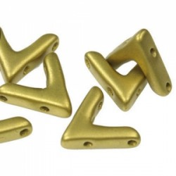 AVA®  Bead  10x4 mm  Jet Bronze    - 10 Pcs