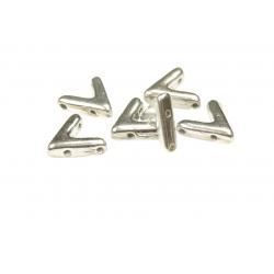 AVA®  Bead  10x4 mm  Crystal Labrador Full    - 10 Pcs