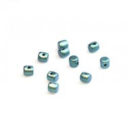 Minos®  par Puca®  2,5x3 mm  Metallic Mat Green Turquoise -  - 5 g