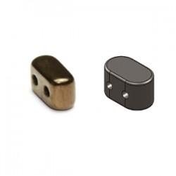 IOS® par Puca®  5,5X2,5  mm  Dark Gold  Bronze   - 10 g