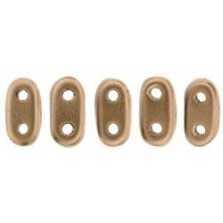 Perline Bar 2x6 mm Matte Metallic Bronze Copper - 5 gr