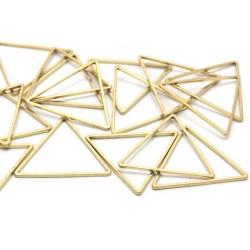 Brass Triangle  Link  24x24x24 mm   - 1 pc