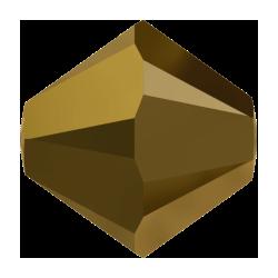 Swarovski Bicone 5301  3 mm  Crystal Dorado  2X     - 50  pcs