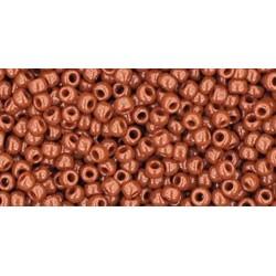 Rocailles Toho 11/0 Opaque Terra Cotta