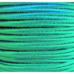 Soutache Braid  4 mm  Blue Turquoise  -  2  m