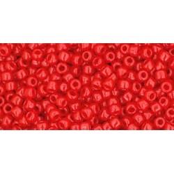 Rocailles Toho 11/0 Opaque Cherry