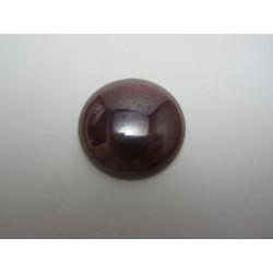 Cabochon par Puca®  25 mm Luster Opal  Dark Red     - 1 pc