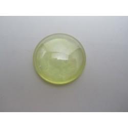 Cabochon par Puca®  25 mm Luster Opal  Light Topaz     - 1 pc