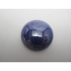 Cabochon par Puca®  25 mm Luster Opaque Dark Sapphire     - 1 pc