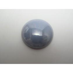 Cabochon par Puca®  25 mm Luster Opaque Light Blue      - 1 pc