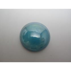 Cabochon par Puca®  25 mm Luster Opal Blue     - 1 pc