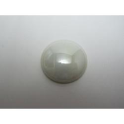 Cabochon par Puca®  25 mm Luster Opaque White - 1 pc