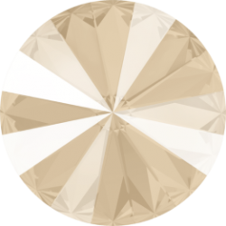 Rivoli  Swarovski 1122  14 mm  Crystal Ivory Cream   - 1 pz