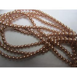 Perle Swarovski 5810  4 mm  Rose  Gold  - 20  Pz