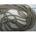 Swarovski  Pearls 5810  4 mm  Platinum   - 20  Pcs