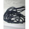 Swarovski  Pearls 5810  4 mm Night Blue   - 20  Pcs