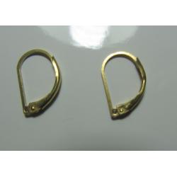 Monachella in Ottone a chiusura  15 x 10  mm  -  4 pz