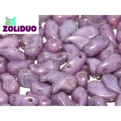 Zoliduo®  5 x 8  mm Opaque Lila Vega  Luster  Versione Destra  -  20 Pz