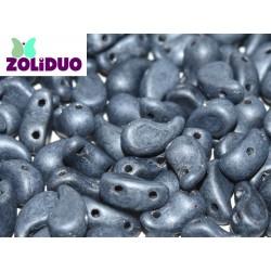 Zoliduo®  5 x 8  mm Matte  Hematite   Versione Destra  -  20 Pz