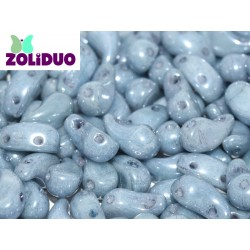 Zoliduo®  5 x 8  mm Opaque Baby Blue Luster  Left  Version  -  20  pcs