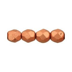 Mezzo Cristallo 6 mm Matte Metallic Copper - 25  Pz