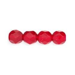 Mezzo Cristallo 6 mm Ruby  25  Pz
