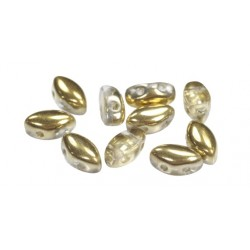 IrisDuo® 7 x 4  mm Crystal Amber  -  25 pcs