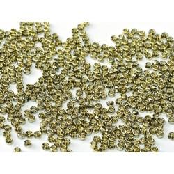 Miyuki Round Seed Beads  11/0 Crystal Amber - 10 g