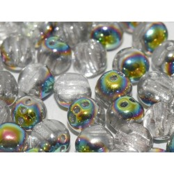 RounTrio® Beads 6 mm Crystal Marea - 25 pcs