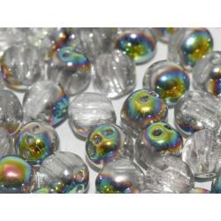 RounTrio® Beads 6 mm Crystal Marea - 25 pz