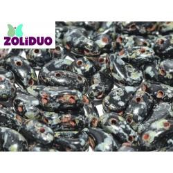 Zoliduo®  5 x 8  mm Jet Travertin  Versione Destra  -  20 Pz