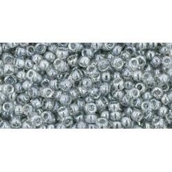 Rocailles Toho 11/0 Trans-Lustered Black Diamond