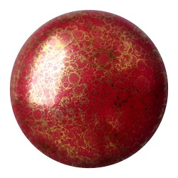 Cabochon par Puca®  18 mm  Mordore Opaque  Amethyst Bronze   - 1  pz