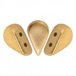 Amos® par Puca® 5x8 mm Light  Gold   Mat     - 10 g